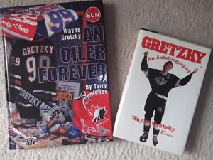 WAYNE GRETZKY AN OILER FOREVER BOOK AND AUTOBIOGRAPHY