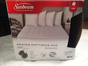 HEATED MATTRESS COVER (QUEEN) ~ As New / Never Used!