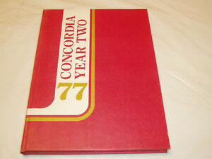CONCORDIA UNIV. MONTREAL YEAR 2 YEARBOOK 1977 West Island Greater Montréal image 3