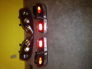 Honda Civic Coupe Projector headlights & carbonfibre taillights