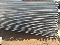 🔩Heras Style Security Metal Fence Panels ~New~