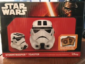 Star Wars Stormtrooper Toaster - new in box