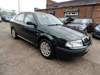 Skoda Octavia 1.9 TDI AMBIENTE (2 FORMER KEEPERS + LONG MOT) (green) 2002