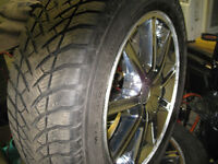 225 60 18  TIRES AND RIMS  CHRYSLER 300  CHARGER MAGNUM CHALLENG