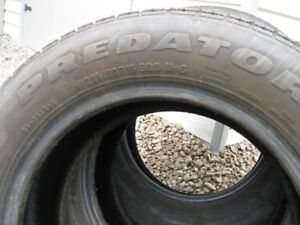 FOR SALE TWO 205/60 R15 90 S M/S PREDATOR TIRES