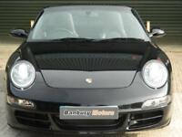 2007 PORSCHE 911 CARRERA 4 S CONVERTIBLE PETROL