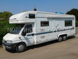 Auto Trail Frontier Arapaho, 2002, 6 Berth, Fiat 2.8D. TAG Axle, Awning & Bike!