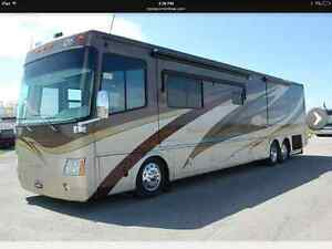 2008 Mandalay Tag Axle Diesel Pusher