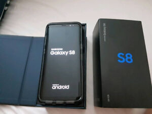 Samsung S8, Mint Condition, w/ otter box case and Warranty!!