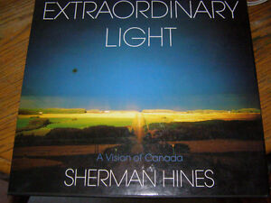 Extraordinary light: A vision of Canada by Sherman Hines