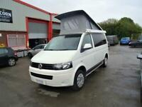 Volkswagen T5 Camper King 4 Berth 5 Travel Seats Motorhome Camper Van For Sale