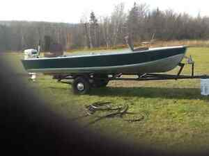14'  fishing boat