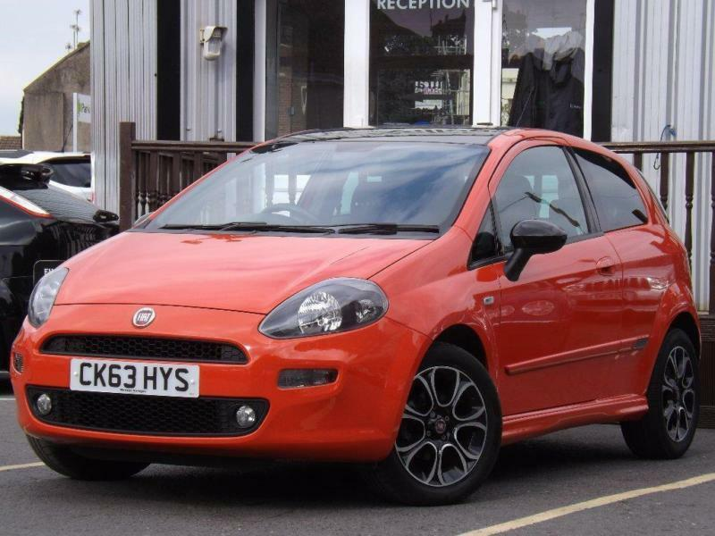 2013 Fiat Punto 1.4 Sporting 3dr 3 door Hatchback