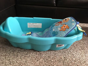 Baby bath used once