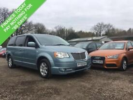 2009 59 CHRYSLER GRAND VOYAGER 2.8 CRD 25TH ANNIVERSARY AUTO 7-SEAT 161 BHP DIES