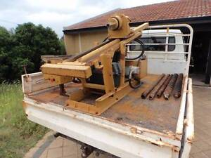 Gemco Auger drill rig on Landcruiser Dianella Stirling Area Preview