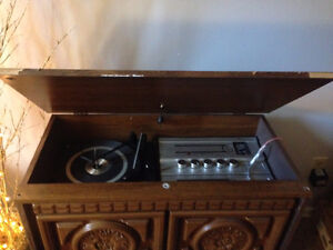 Morse Total Music System 1970s. Vintage Record & 8Track + Tuner