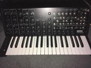 Korg MS 20 Synthesizer