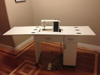 Kenmore Multi-Stitch Sewing Machine and Table - Great Condition!