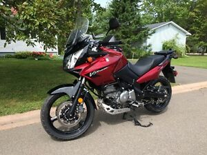 2007 Suzuki Vstrom Adventure Bike