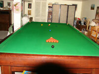 table de billard 6x12 brunswick