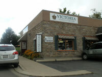 Retail space available in antique shop in St Jacobs village