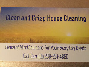 Crisp and Clean House Cleaning Peterborough Peterborough Area image 1