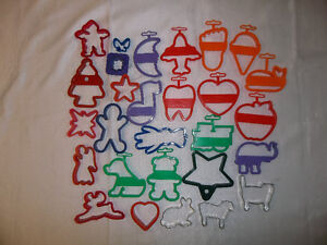 30 PlayDoh Cut Outs - Nice Variety