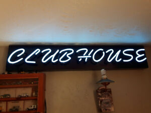 Neon Sign-Clubhouse