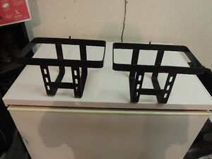 ATV Spare gas can holders