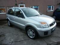 FORD FUSION 1.4 zetec climate 2008 Petrol Manual in Silver