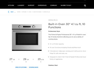 DCS  Built in Oven for sale!