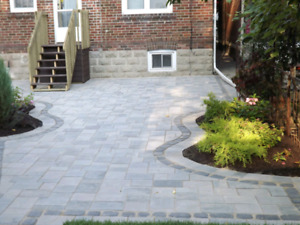 Interlock or any landscaping 6479362737 lowest price
