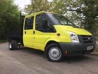 2009/59 Ford Transit 2.4TDCi (100PS) 350L 6sp LWB Tipper Van, Only 59k miles