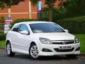 Vauxhall Astra 1.4i 16v Sport Hatch White 2009 SXi..PARKING SENSORS + WARRANTY