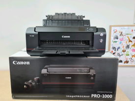 Canon imagePROGRAF Pro-1000 17 inch 12 Ink Photo Pigment Ink Printer