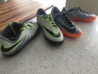 2 pairs of Nike Astro Trainers