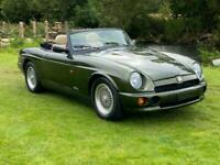MG RV8 MGRV8 4.0 V8 CONVERTIBLE WOODCOTE GREEN * 1 OWNER CAR AND ONLY 4491 MILES