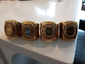Bobby Labonte Ring Paperweights