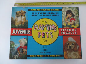 Casse-tête - The Play Time pets set