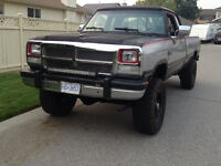1992 Dodge Power Ram 2500 extended cab Pickup Truck