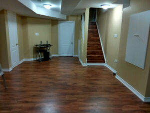 Two bedroom basement Appt for Rent