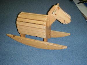 Cheval à bascule / Rocking Horse