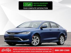 2015 Chrysler 200 LIMITED  LEATHER|HEATED SEATS|REMOTE START|BLU