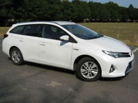 2014 14 REG Toyota Auris 1.8 VVT-i HSD ( 136bhp ) E-CVT Icon ZERO ROAD TAX