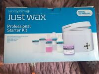Wax pot starter kit. Brand new. Never Used. £68