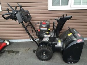 """Craftsman 27"""" two stage snow thrower"""