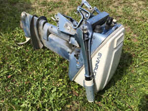 9.9 hp Outboard Engine, Runs Great !