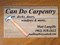 Can Do Carpentry