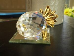 "Swarovski Crystal Figurine - "" Pineapple "" 7507NR Kitchener / Waterloo Kitchener Area image 5"
